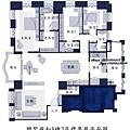 聯聚雍和A棟3房標準層平面圖