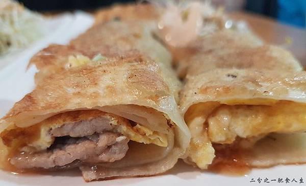 檸檬樹晨食嚴選 泰式燒肉蛋餅 45元