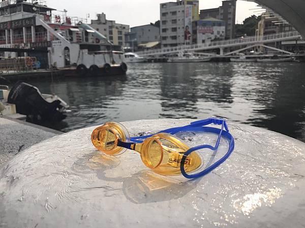 S62SAEKO正光競速競泳蛙鏡黃鏡片