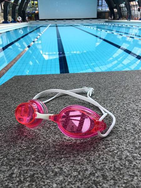 S62正光SAEKO競速泳鏡競泳蛙鏡粉紅色鏡片