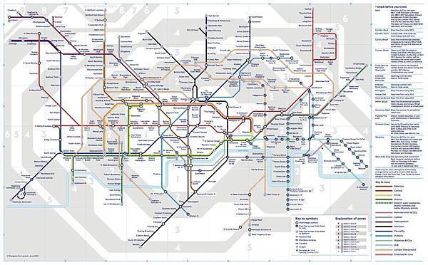 London地鐵圖