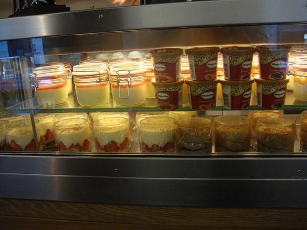 vapiano甜點區