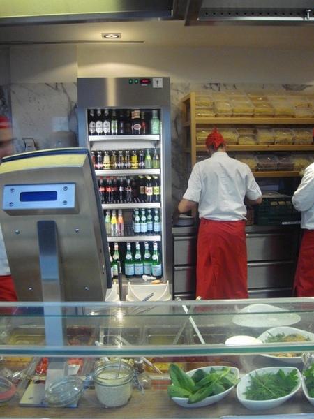 vapiano Pasta點餐區