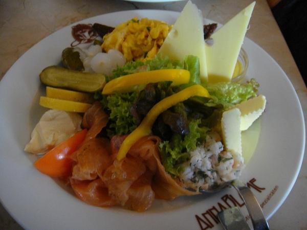 Anna Blemen早餐-燻鮭魚套餐