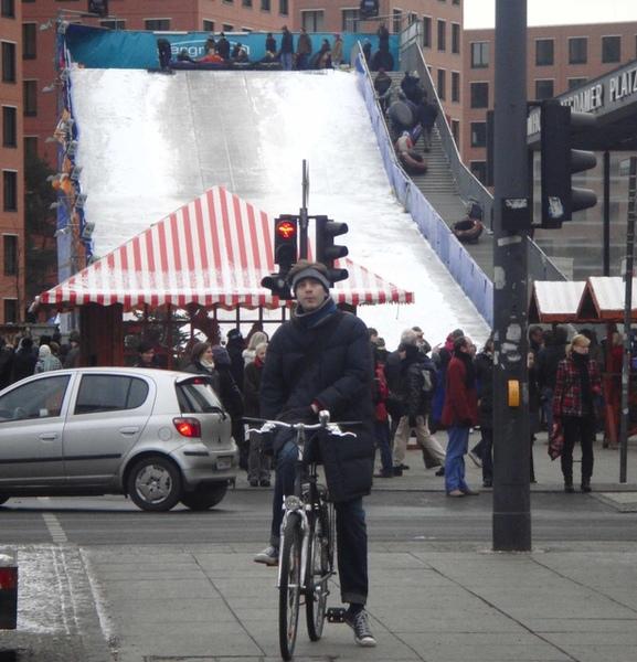 Potadammerplatz的滑雪道