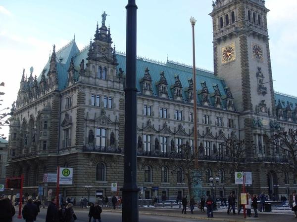 Hamburg市政廳