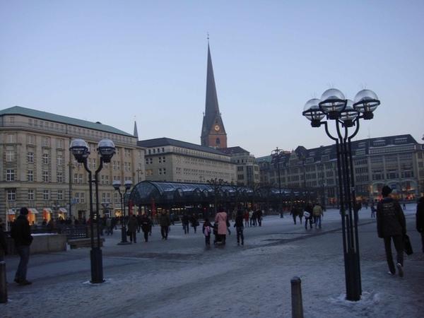 Hamburg市中心一角-3