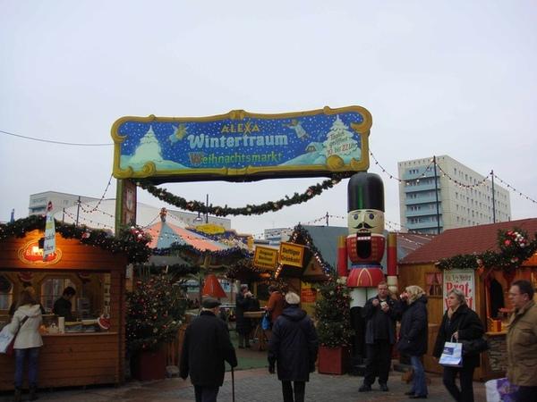 Alexa旁的聖誕市場