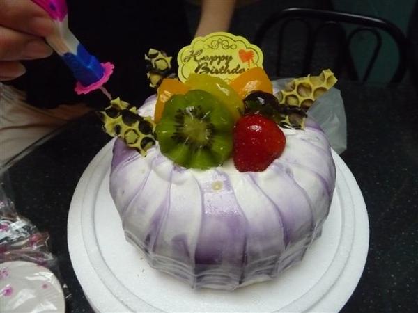 小巧可愛的芋頭布丁蛋糕