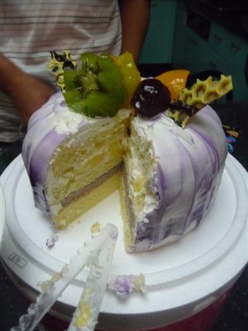 蛋糕真的很好吃..