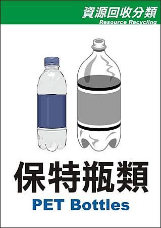保特瓶類(中英版)