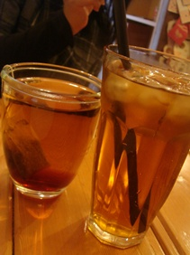 熱紅茶與冰紅茶