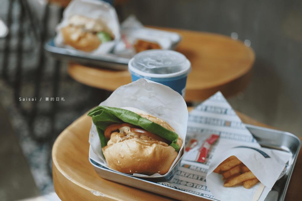 吐司男晨食 勤美店|台中西區・與很牛炭燒牛排聯名的漢堡來了!現正活動優惠,漢堡買一送一!