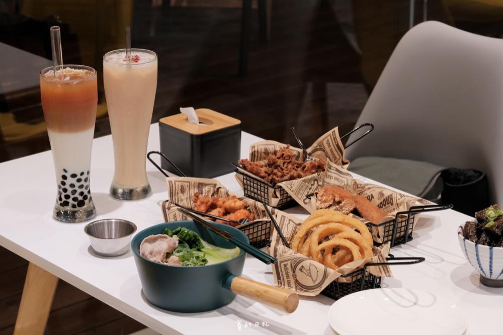 雞茶大隊|台中西區美食|吃著豆乳炸雞、喝著一杯茶,談著我們一起旅遊過的美好曾經 ♪