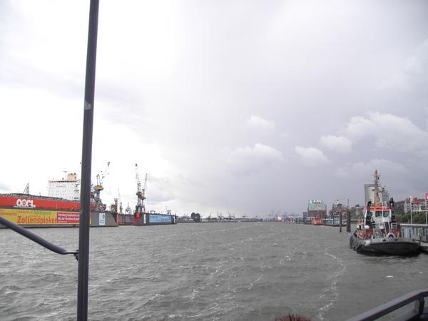 漢堡港(船上)