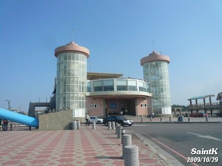 永安觀光漁港的市場建築