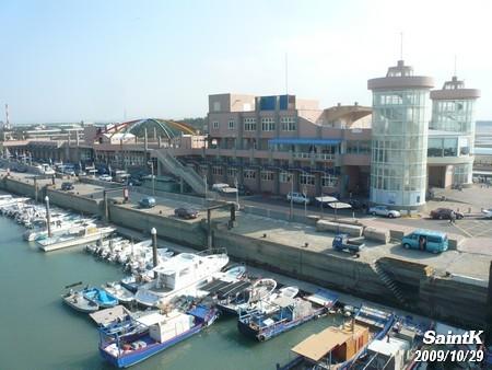 永安觀光漁港的遊艇碼頭