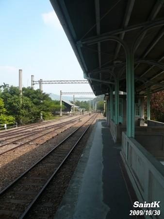月台上一景