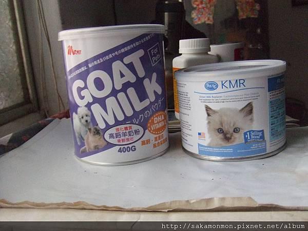 MS.PET寵物羊奶粉與貝克KMR愛貓樂比較