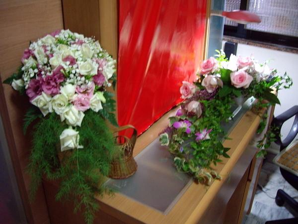 漂亮的新娘捧花