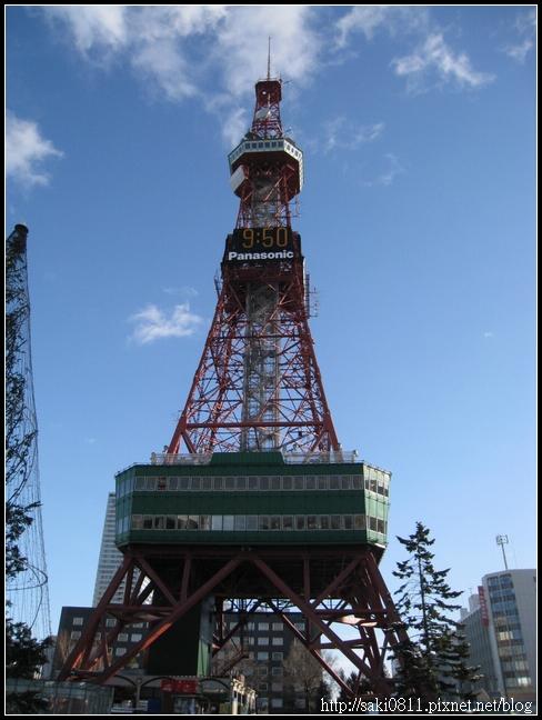 白天的大通電視塔