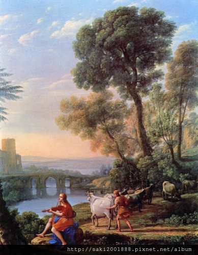 阿波羅與赫耳墨斯