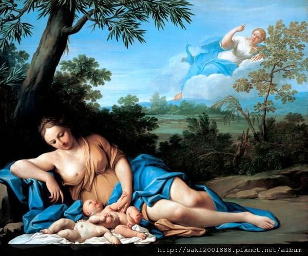 阿波羅與黛安娜的誕生