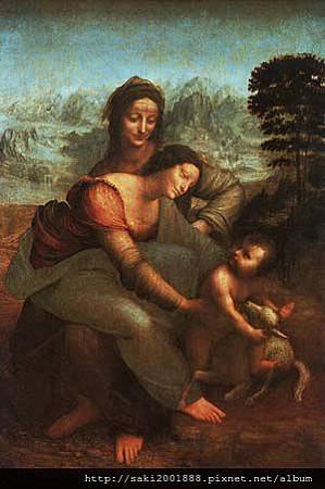 聖母、聖嬰和聖安娜