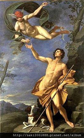 赫耳墨斯和帕里斯