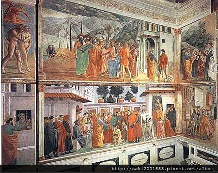 布蘭卡契禮拜堂的壁畫