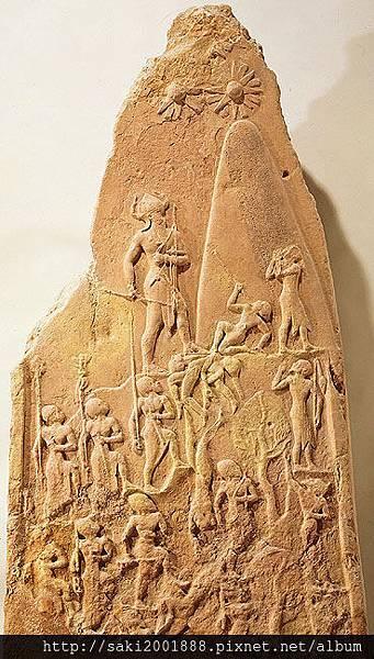 那辛王紀念碑(2270BC)