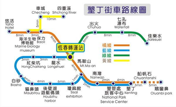 街車路線圖