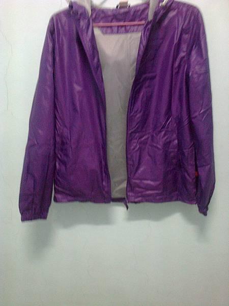 紫色風衣1