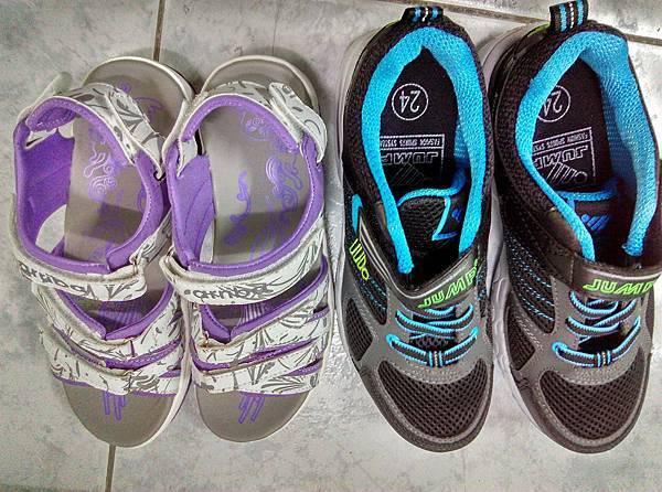 新鞋涼鞋加運動鞋