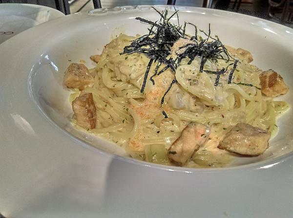 佐佐義明太子鮭魚麵