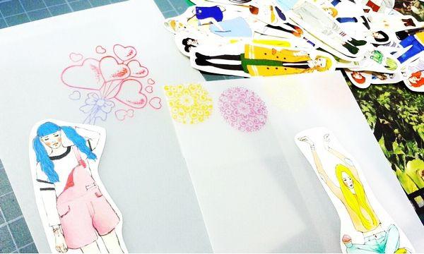 20140622 描圖紙手作信封甜蜜生活系列女孩 01.jpg