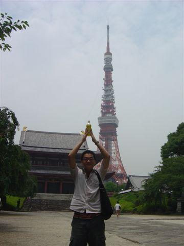 上增寺與鐵塔