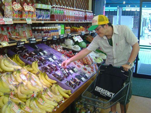 月島的超市