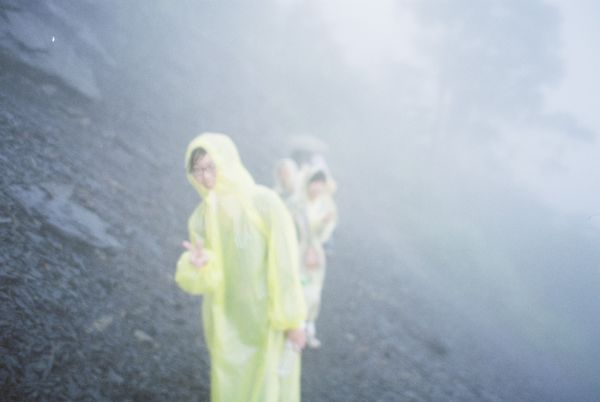 往神木的時候起大霧
