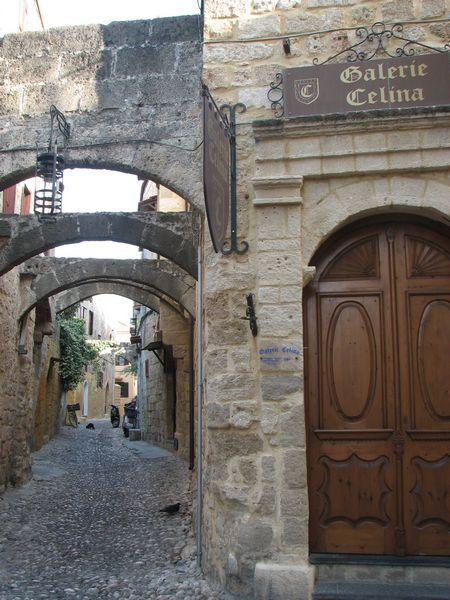 Rodos的舊城區