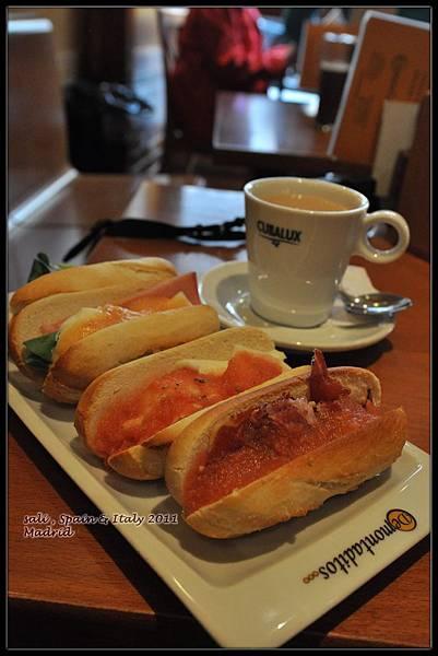 西班牙的第一餐