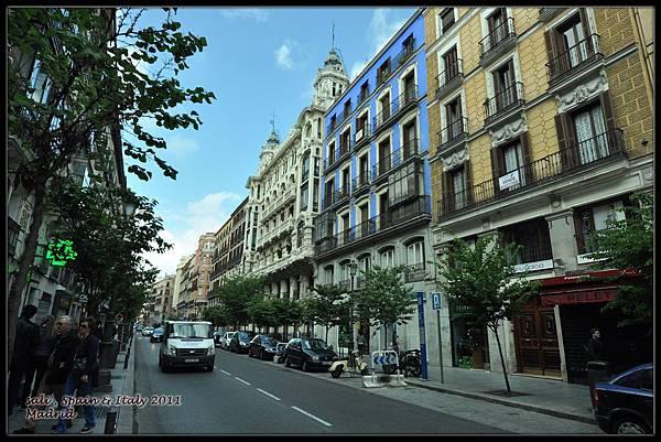 馬德里街頭