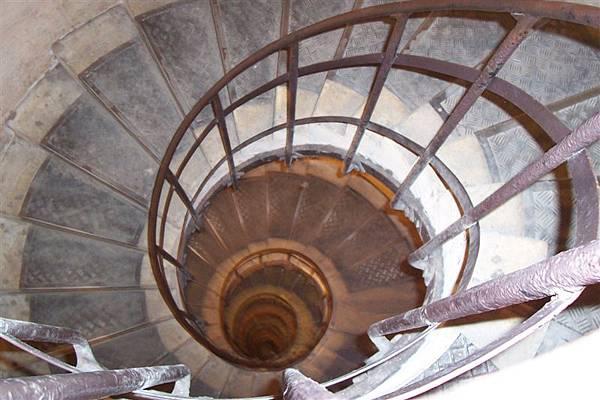 我就是爬了這麼多樓梯上下的