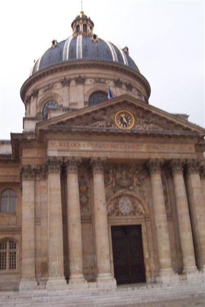 走到了法國學士院