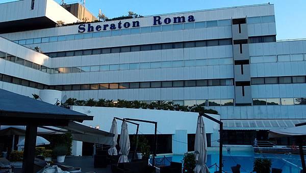 7.16羅馬Sherato Roma Hotel (2).JPG