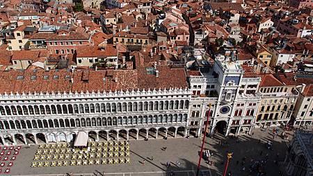 威尼斯鐘樓俯瞰