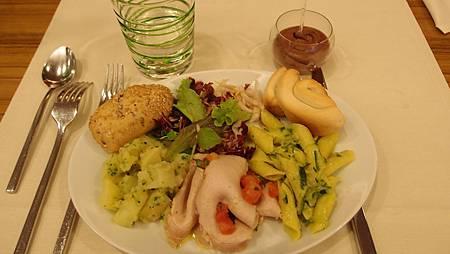 Crowne Plaza Verona飯店-晚餐