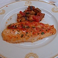 Hotel La Palma晚餐飯店-主菜魚-好吃 (15)