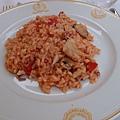 7.17Hotel La Palma晚餐飯店-前菜海鮮燉飯 (14)