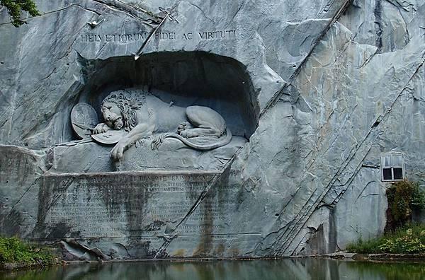 琉森 獅子紀念碑